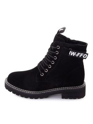 Ботинки черные | 5716423