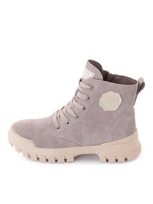Ботинки серые | 5716424