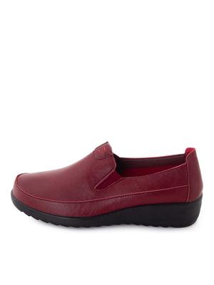 Туфлі бордові  | 5716430