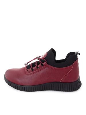 Ботинки бордовые | 5716477