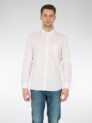 Сорочка кольору пудри | 5708671