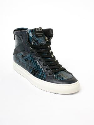 Кроссовки синие | 5705832