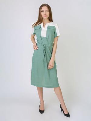 Платье зеленое | 5707874