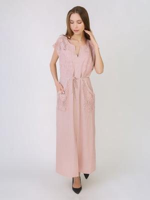 Сукня пудрового кольору   5707902