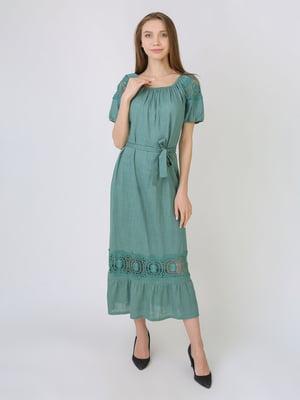 Сукня сіро-зелена   5707904
