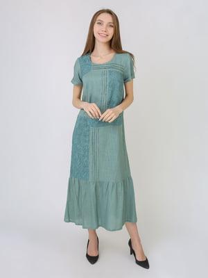 Сукня сіро-зелена    5707911