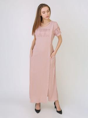 Платье пудрового цвета   5707913
