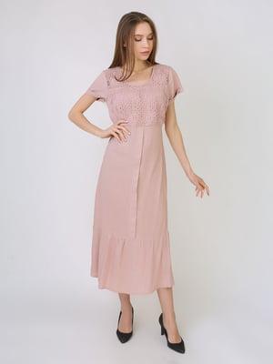 Платье пудрового цвета   5707914