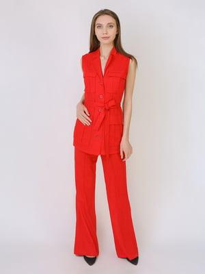Штани червоного кольору | 5707922