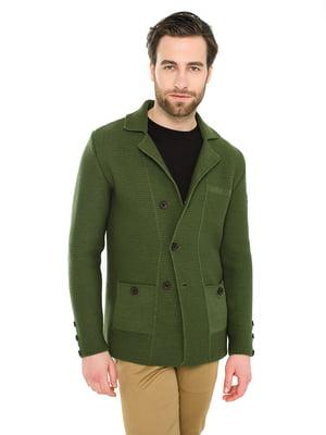 Пиджак оливковый | 5716749
