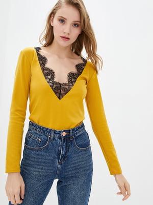 Блуза горчичного цвета | 5716799
