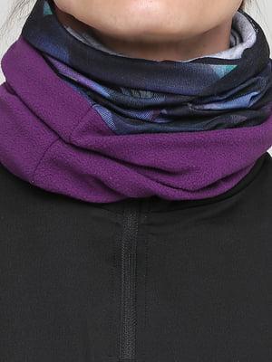 Бафф фиолетовый с принтом | 5716832