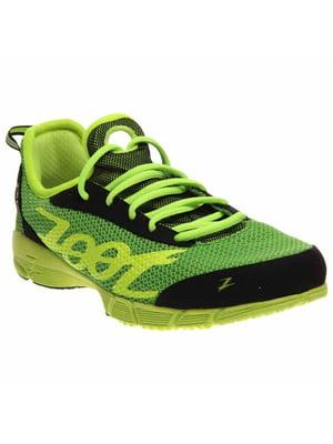 Кросівки зеленого кольору з логотипом   5716925