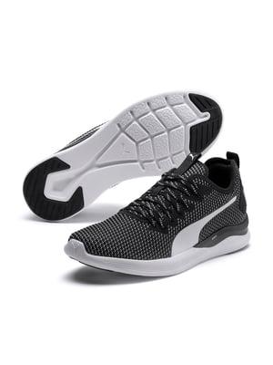 Кросівки чорні з візерунком | 5717012