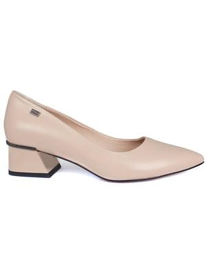 Туфлі бежевого кольору   5717312