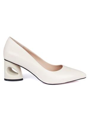 Туфлі молочного кольору   5717318