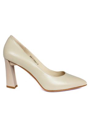 Туфлі бежевого кольору   5717327