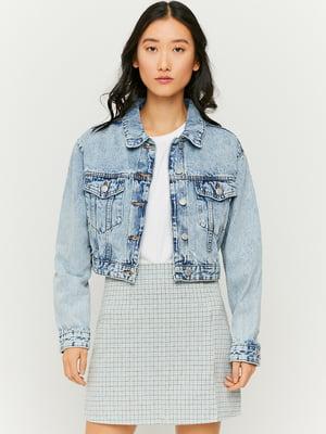 Джинсовая куртка голубая | 5717700