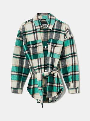 Рубашка трьохколірна в клітку | 5717710