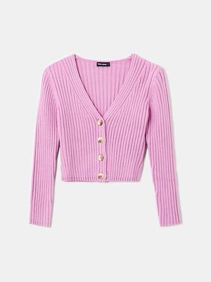 Пуловер розовый | 5717740