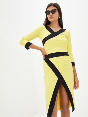 Платье желтое | 5716781