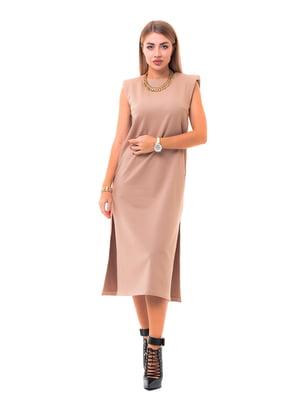 Платье бежевое | 5718226