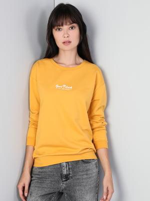 Свитшот желтый | 5377509