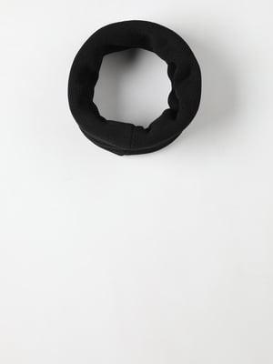 Шарф-снуд чорний | 5577705