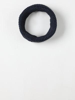 Шарф-снуд темно-синій | 5577708