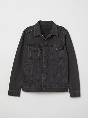 Куртка темно-сіра | 5718390