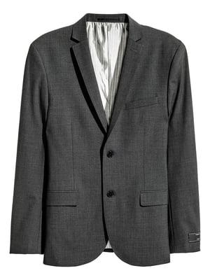 Пиджак темно-серый | 5718437