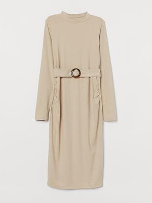 Платье бежевое | 5718525