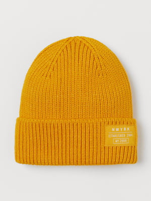 Шапка желтая | 5718638