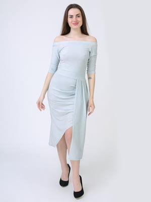Платье голубое | 5714019