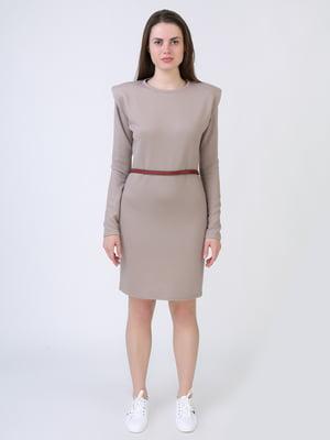 Платье бежевое | 5714024
