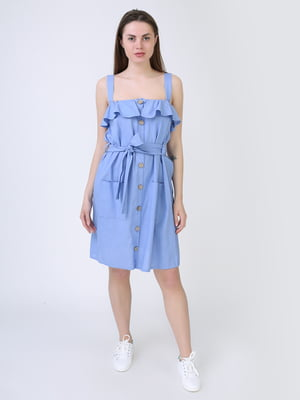 Платье голубое   5714026