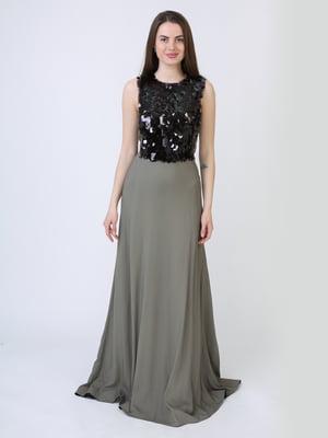Платье двухцветное | 5714028