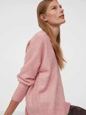 Пуловер розового цвета | 5702611