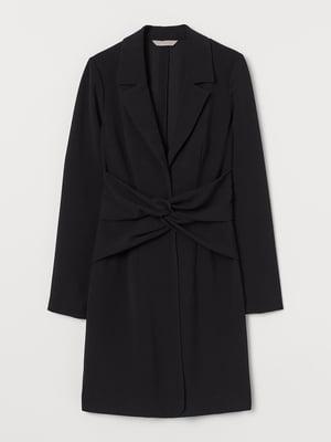 Сукня-жакет чорна | 5702696