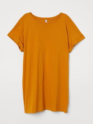 Футболка морквяного кольору | 5702712