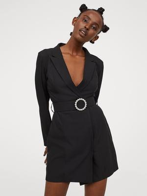 Сукня-жакет чорна | 5702995
