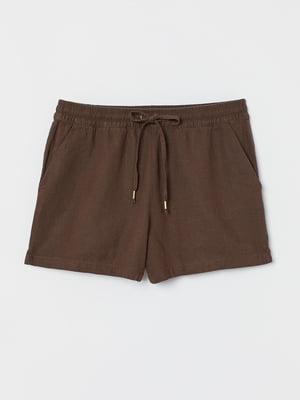 Шорты коричневого цвета | 5703039