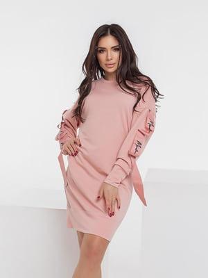 Сукня пудрового кольору | 5718865