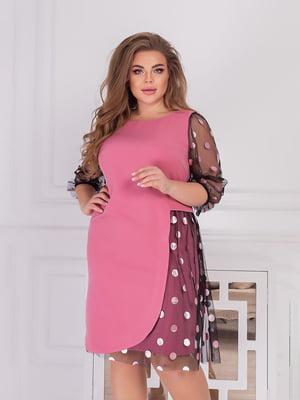 Платье розовое   5718886