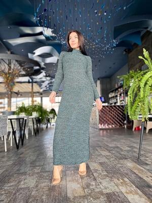 Сукня кольору морської хвилі | 5719091