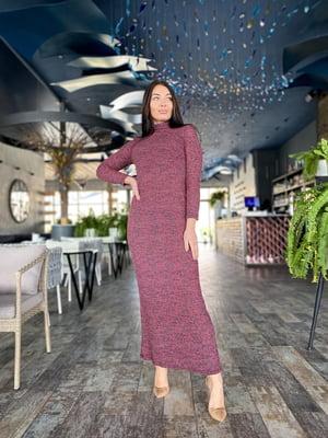 Сукня бордова | 5719093