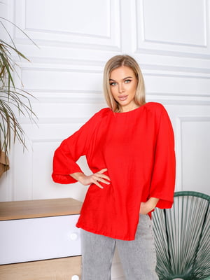Блуза червоного кольору | 5719128