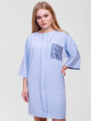 Сукня блакитна | 5719193