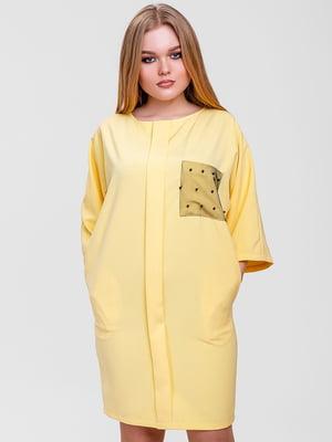 Сукня жовта | 5719195