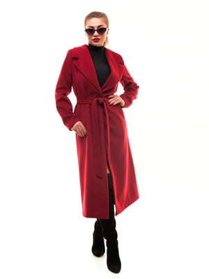 Пальто бордове | 5718136